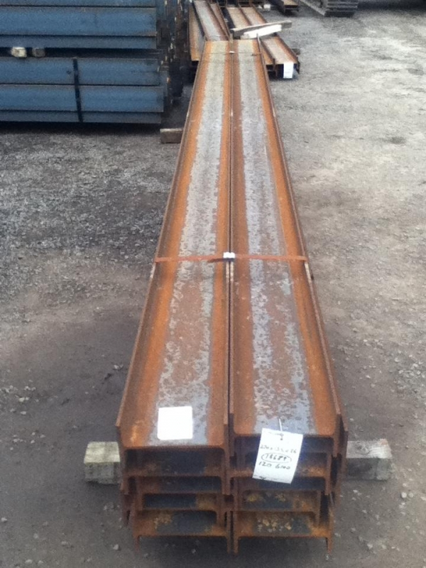 6.000/6.100 Mtr 270 mm x 135 mm x 36.1 Kg/m Steel Ipe - New Unused