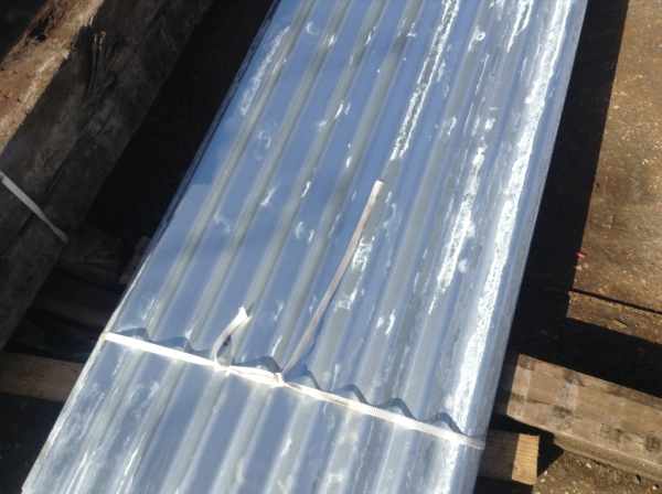 New 10 ft x 2 ft  Galvanised   Corrugated Roofing Sheets