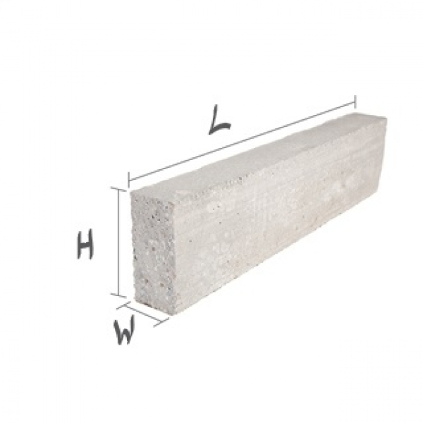 1200 Mmx140 Mmx140 mm Prestressed Concrete Lintel Standard Finish
