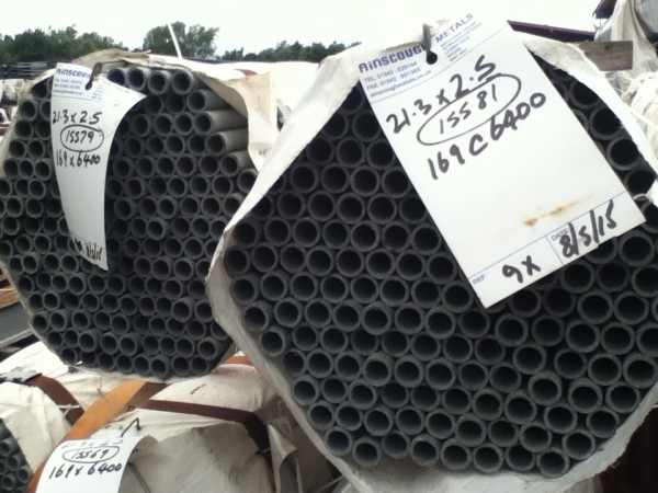 6.400 Mtrs Unused Galvanised 21.3 mm Diameter  Steel Tube (2.5 mm Thick) Drainage - Water Pipe