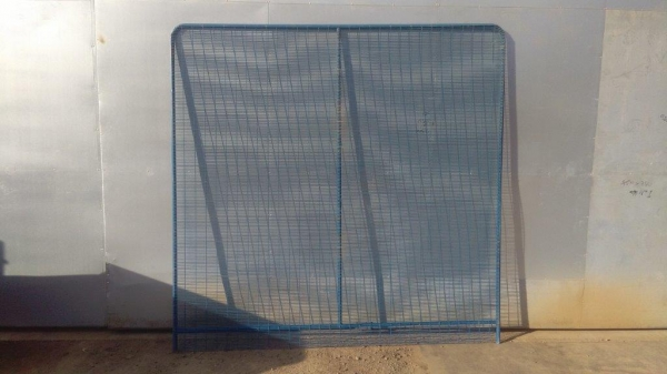 Fence Panels Used 3.000 Mtr x 2.000 Mtr Blue Polmil - Prison Mesh - Anti-terrorism   School Railings - Park Railings- Security Fencing