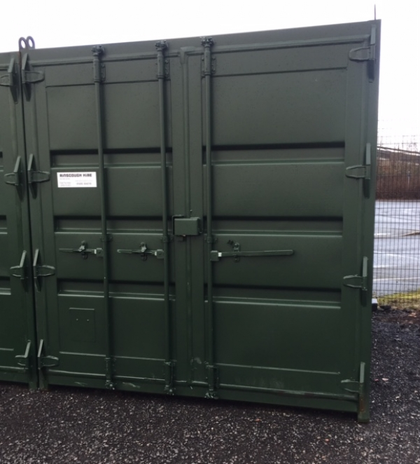 10 ft Long 8 ft Wide Green/blue or Red Steel Storage Container Second Hand - Newly Refurbished - Store