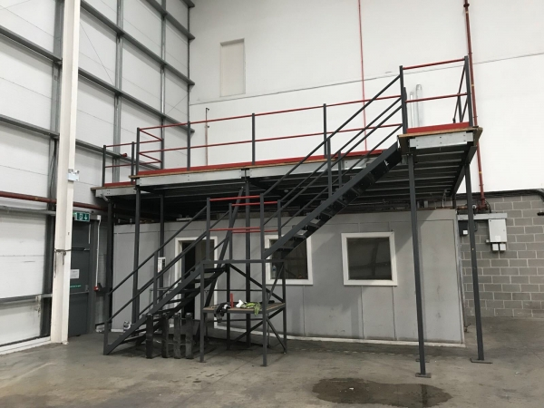 Mezzanine Floors From Ainscough Metals for sale