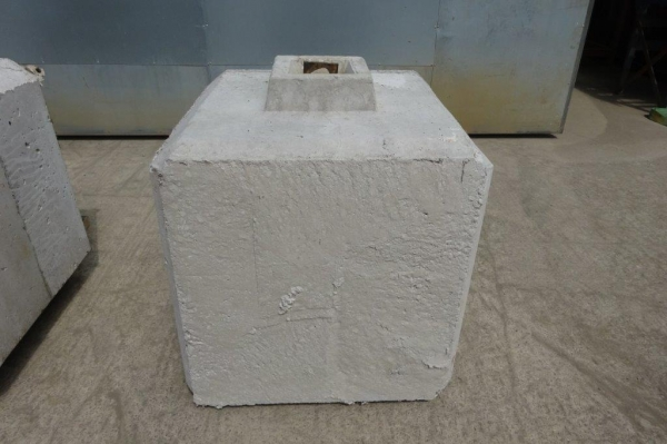 Concrete Lego Block 680 mm Long x 680 mm Wide x 700 mm High For Security/barriers/walls/barricades/storage Bays