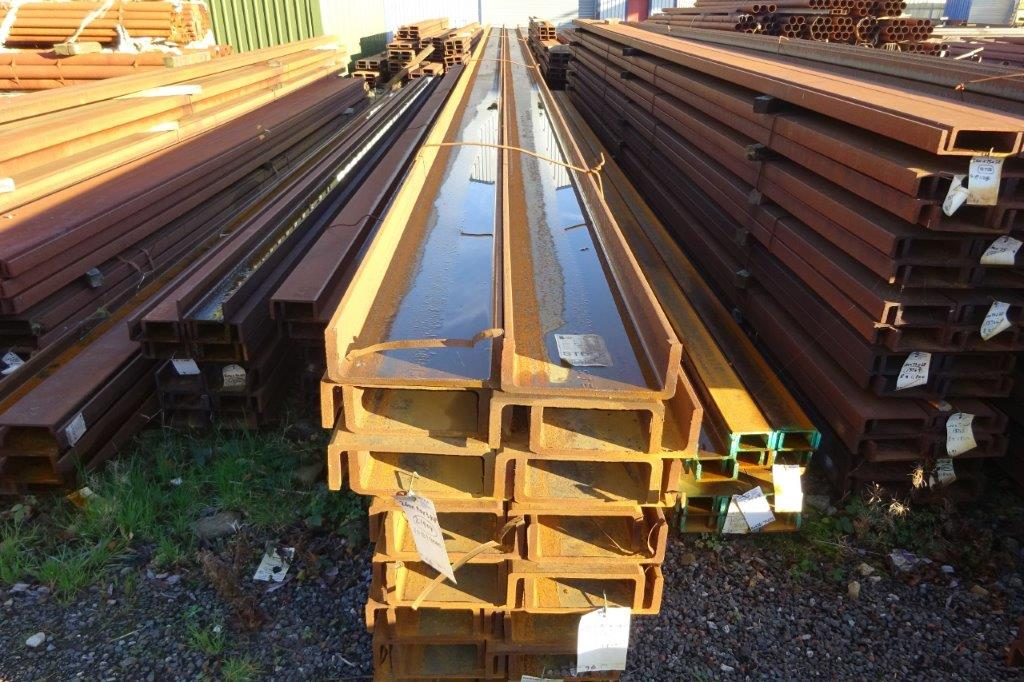 1.5 Mtrs 260 x 90 x 34.8 UC Universal Steel Channel
