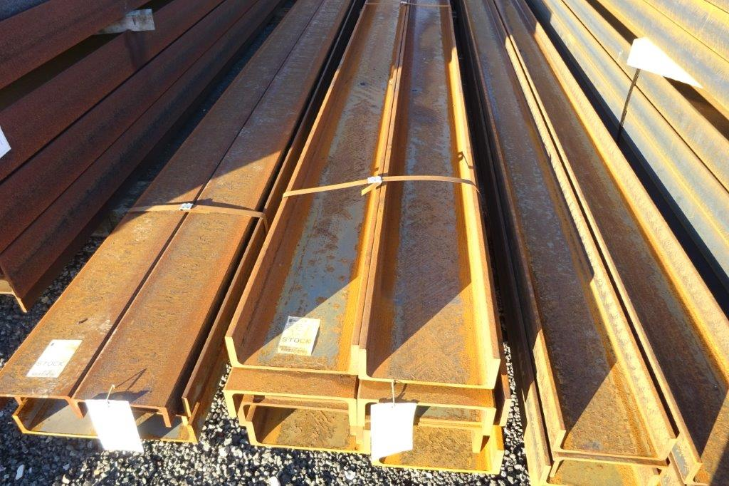 6.5 Mtrs 300 x 100 x 45.5 UC Universal Steel Channel
