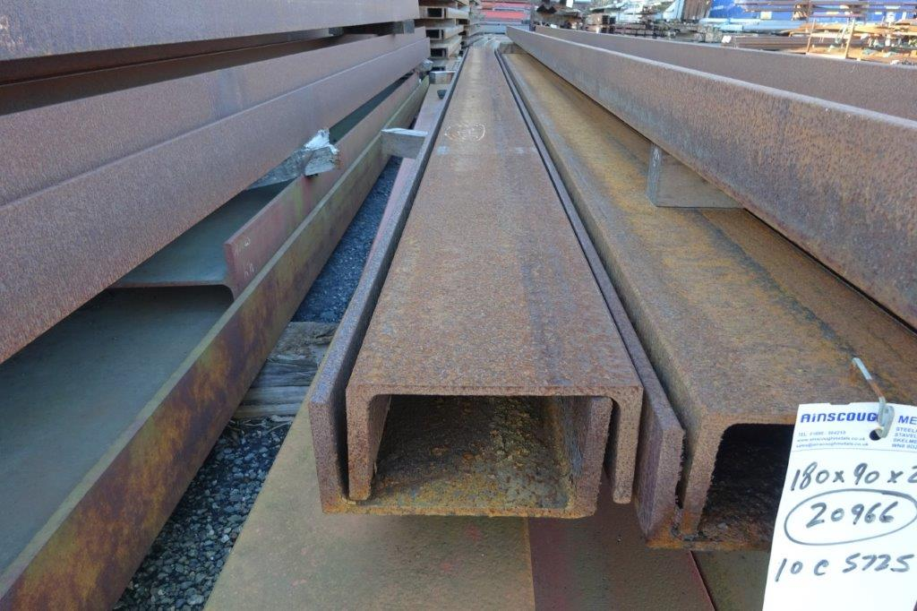 9 Mtrs 180 x 90 x 26.1 UC Universal Steel Channel