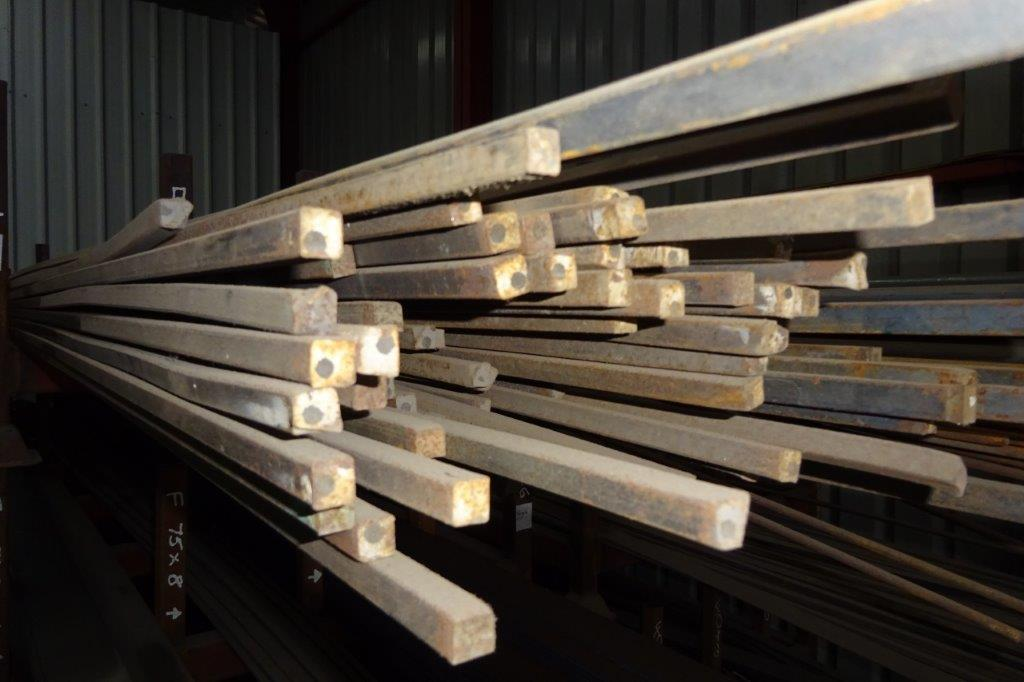 3 Mtrs 12mm Mild Steel Solid Square Bar