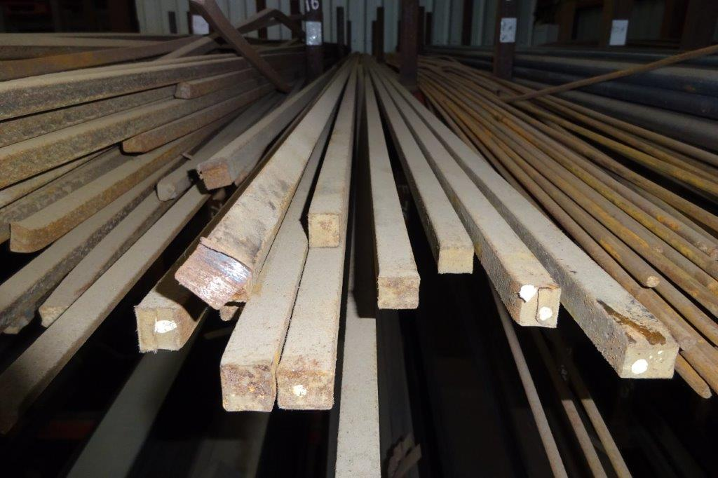 6 Mtrs 16mm Mild Steel Solid Square Bar