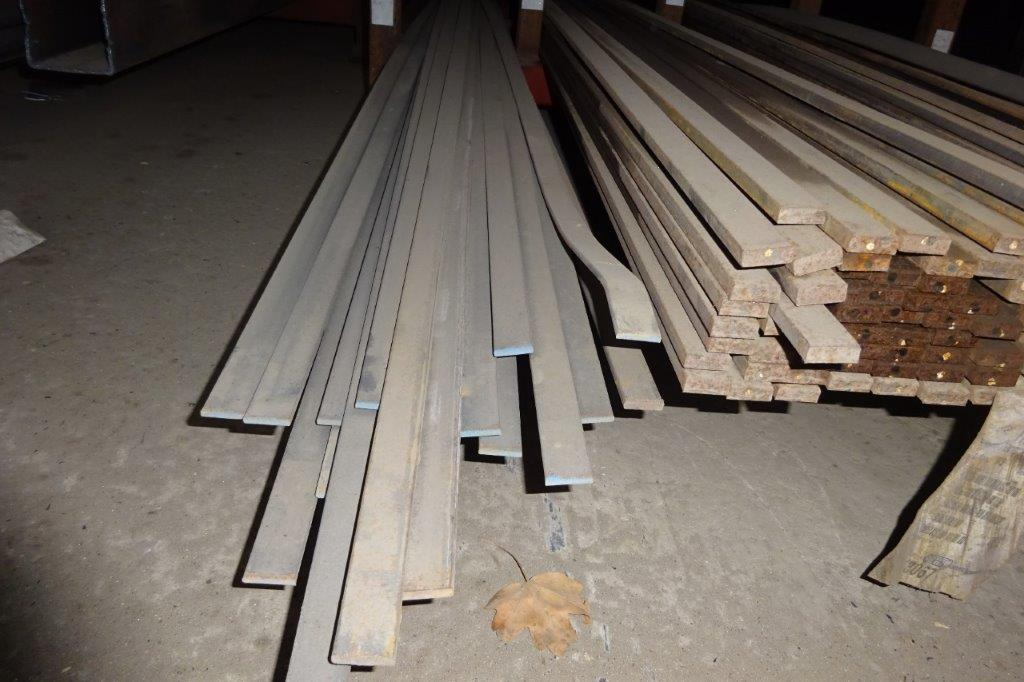 6 Mtrs 25 x 5 Mild Steel Metal Flat Bar