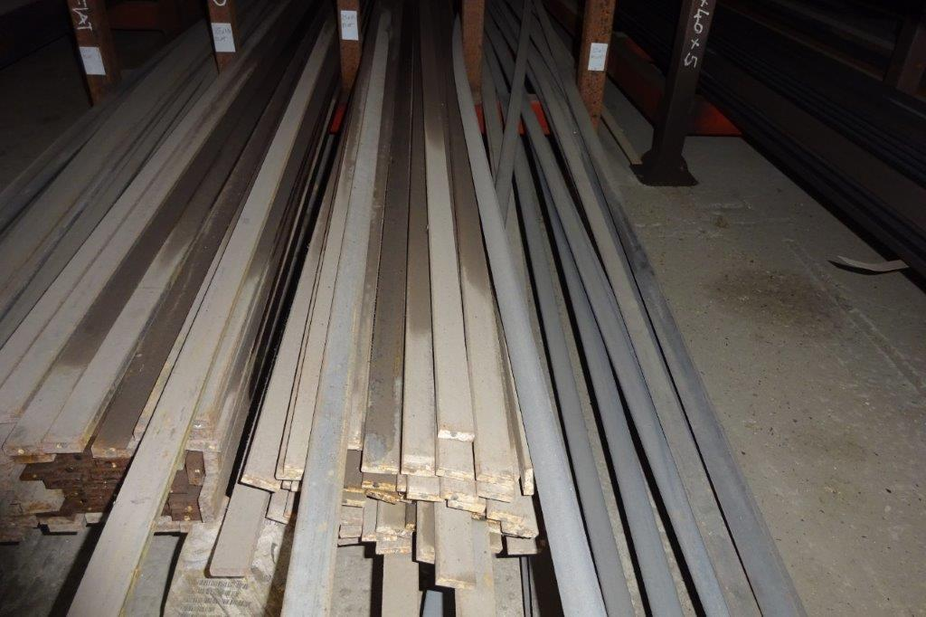 6 Mtrs 25 x 8 Mild Steel Metal Flat Bar