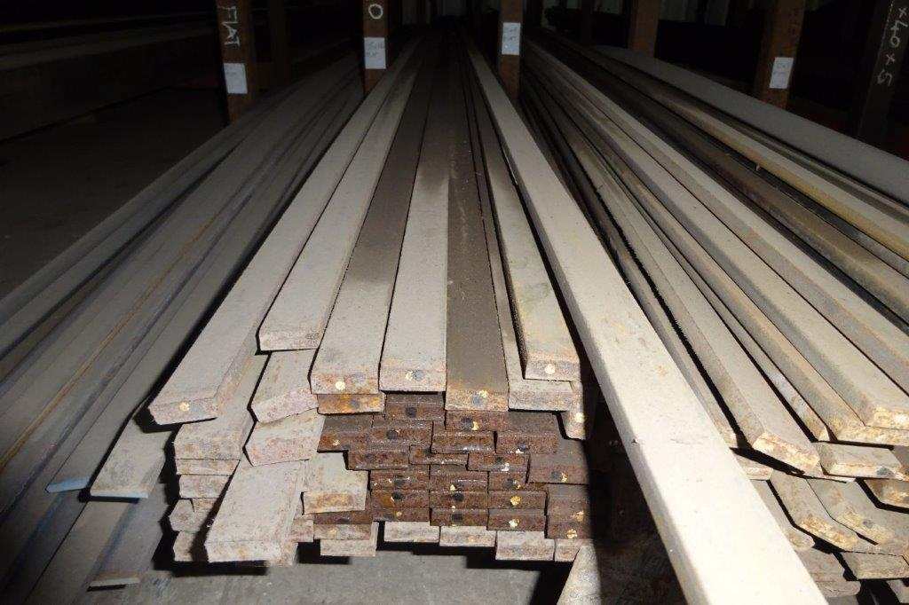 6 Mtrs 25 x 10 Mild Steel Metal Flat Bar