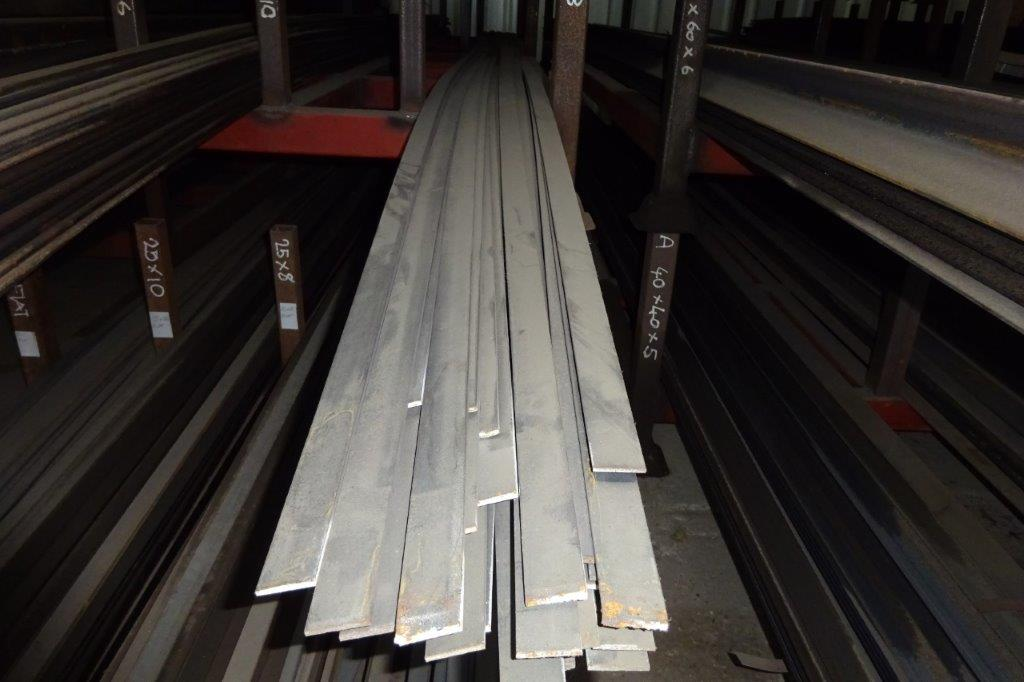 6 Mtrs 30 x 3 Mild Steel Metal Flat Bar