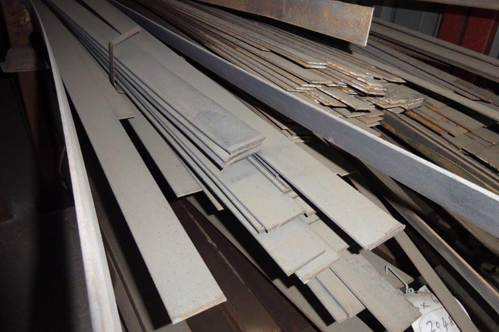6 Mtrs 50 x 3 Mild Steel Metal Flat Bar