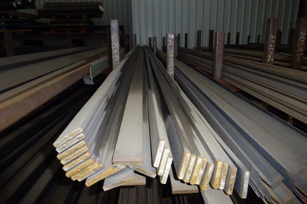 3 Mtrs 50 x 10 Mild Steel Metal Flat Bar