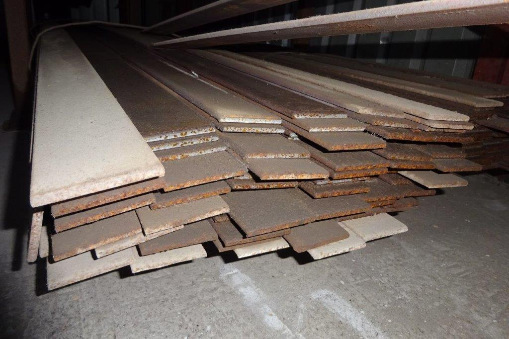 3 Mtrs 65 x 6 Mild Steel Metal Flat Bar
