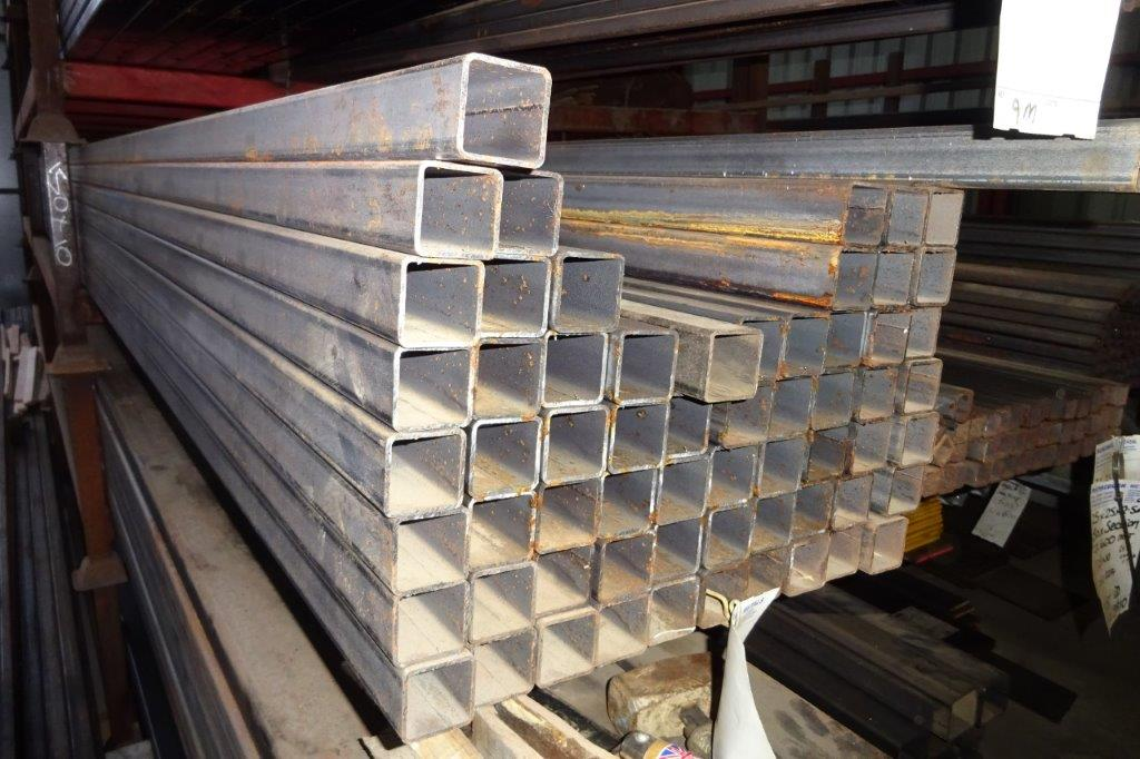 7.5 Mtrs 40 x 40 x 3 Mild Steel Box Section RHS