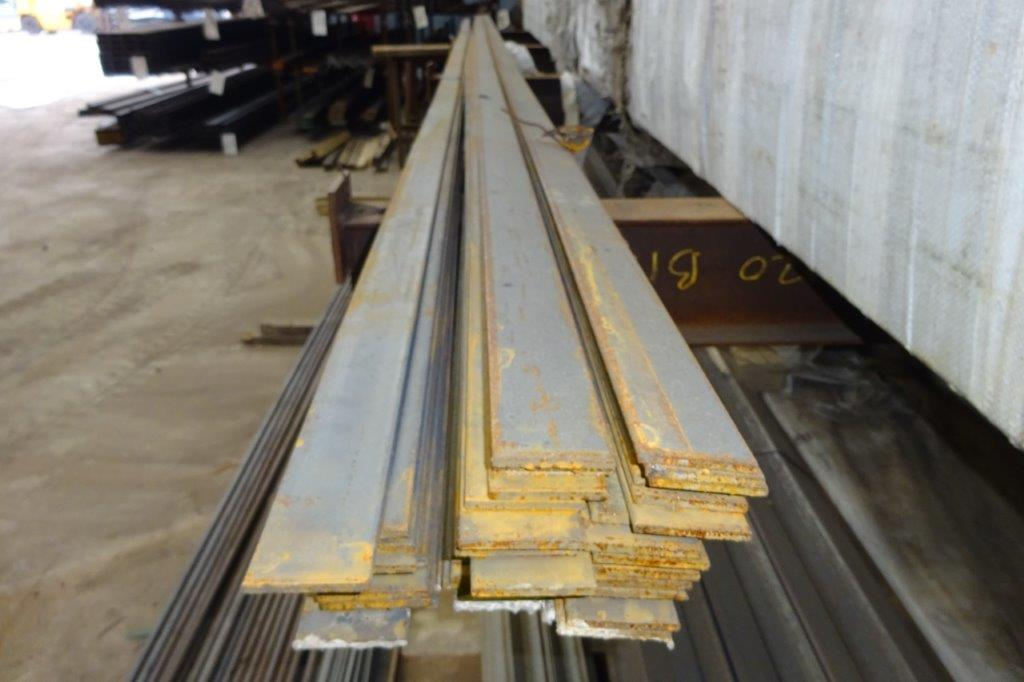 3 Mtrs 50 x 6 Mild Steel Metal Flat Bar