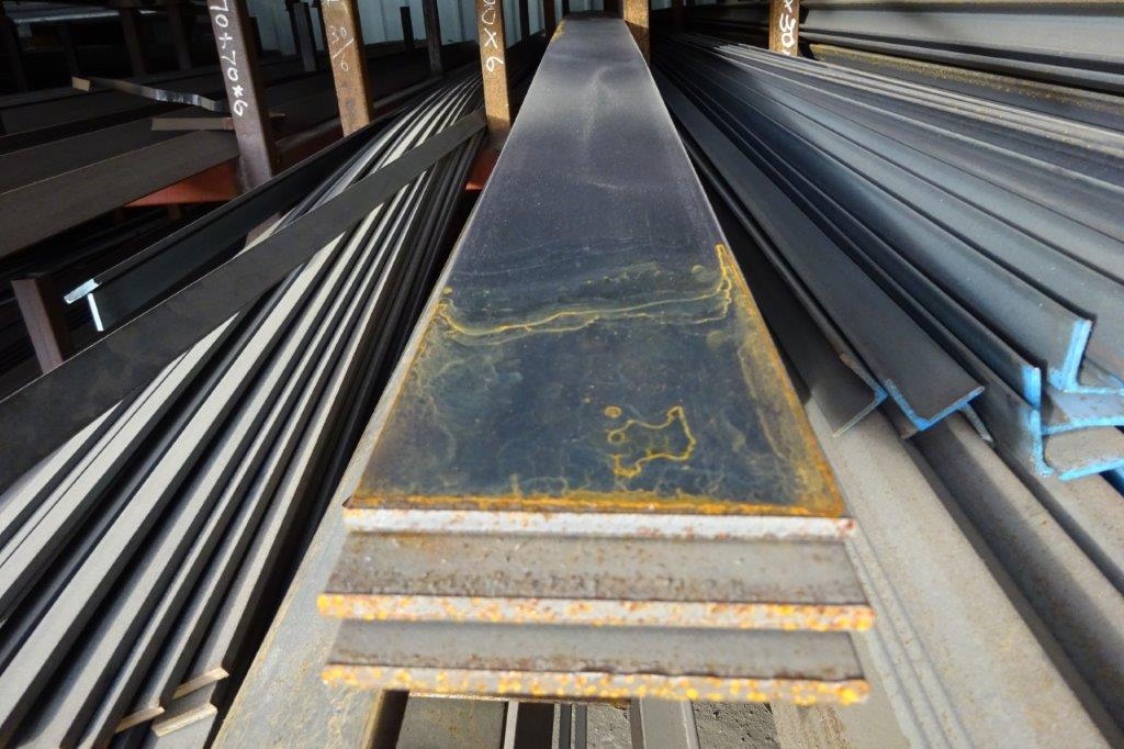 6 Mtrs 100 x 6 Mild Steel Metal Flat Bar