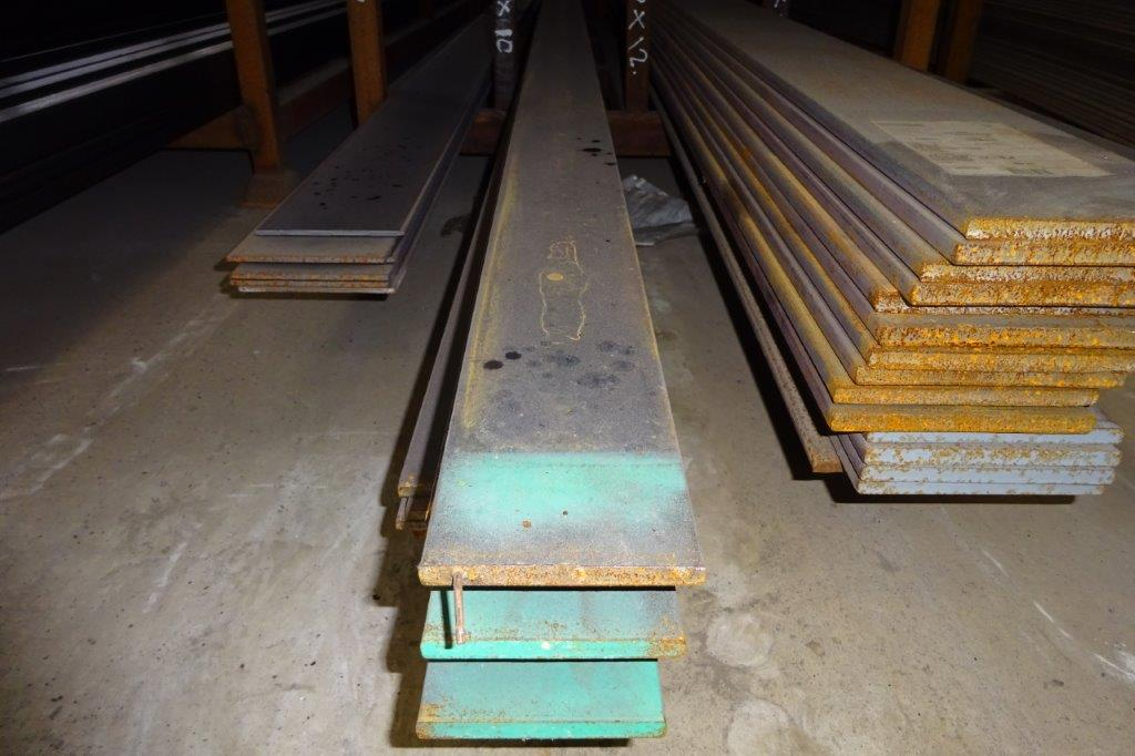 6 Mtrs 100 x 10 Mild Steel Metal Flat Bar