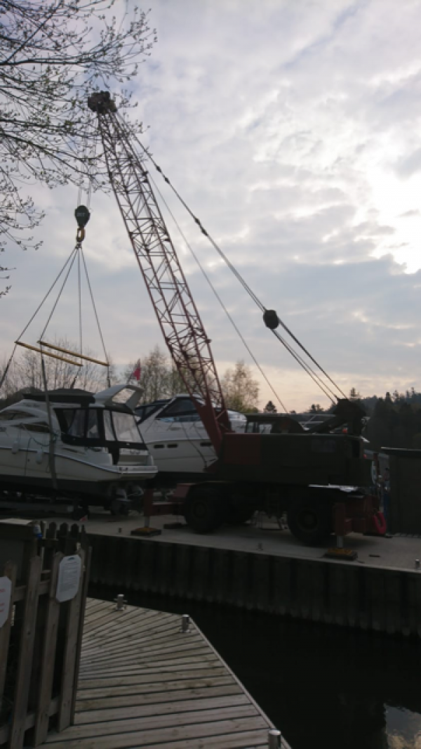 Coles 20/30 Ton Crane - Ideal Boat Yard Crane - Barge Lifting - Canal Boat Lifting - Yard Crane - Harbour Crane - Dock Crane - Second Hand