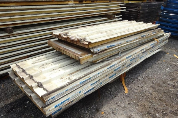 Used 3.850mtr Cover x 900mm Cover 50mm    Kingspan Insulated Roofing Sheets