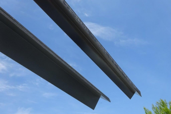 Cleader Rail / Angle 100 x 100 x 2mm Galvanised 6.000mtr Long