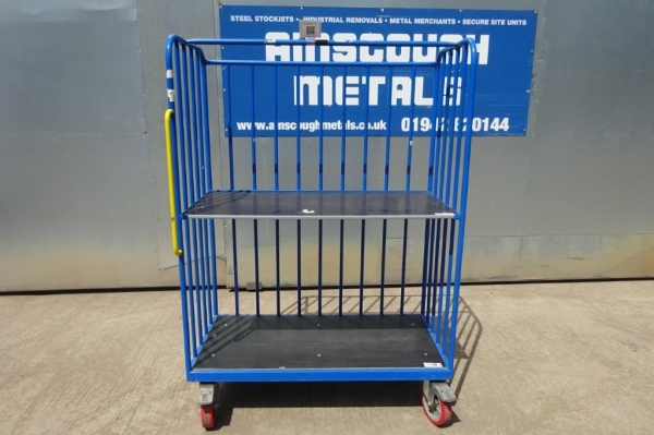 Used Blue Trolley - Picking / Packing / Storage / Shelving - Free Delivery