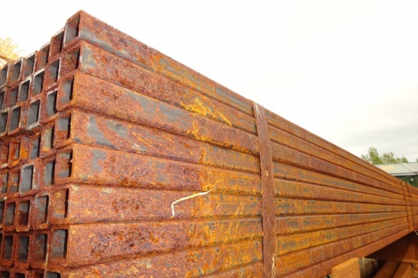 7.500 Mtr of 25 mm x 25 mm x  3 mm Steel Box Section  ( 25 x 25 x 3 mm Box Section 7.500 Mtr Unused Stock Rusty )
