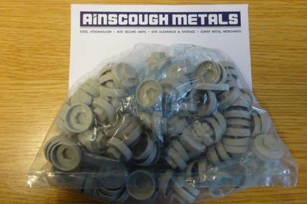 Roof Fixing Caps Grey New ( Bag of 100 )