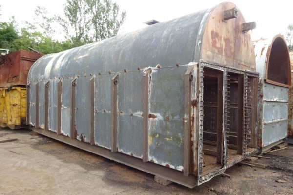 Steel Tank For Slurry / Oil / Water Storage - 67 Cubic Metres - Used