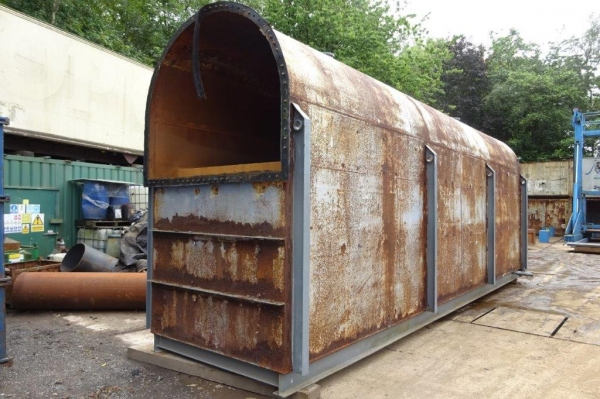 Steel Tank For Slurry / Oil / Water Storage - 56 Cubic Metres - Used