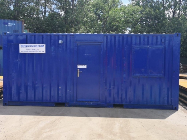 20ft Long 8ft Wide Blue Drying Room / Office / Store / Welfare / Second Hand  - Store