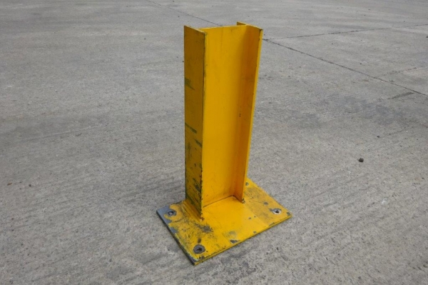 Used Bolt Down 152 x 89 ub Crash Barrier Post  510 mm High