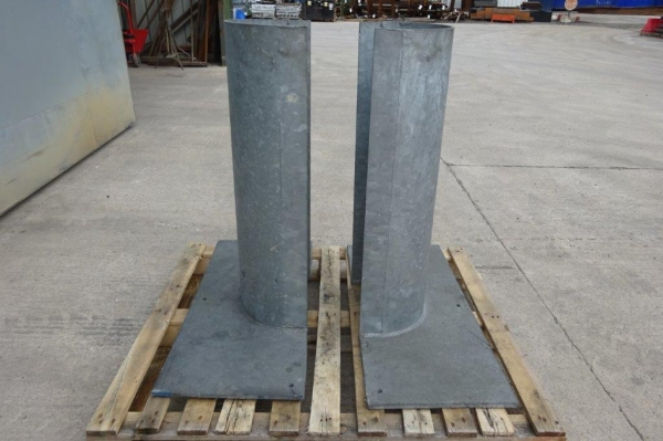 Pair of Galv Corner / Post Protectors - Used