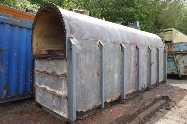 Steel Tank For Slurry / Oil / Water Storage - 34 Cubic Metres - Used