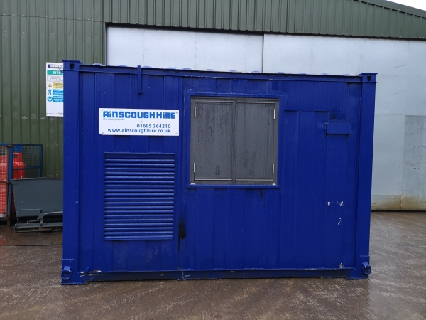 12ft Long 8ft Wide Blue Office Unit / Store - Newly Refurbished  - Store
