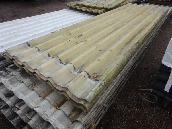 Second Hand Box Profile Roof Lights 3.880 Mtr x 1.000 Mtr Cover