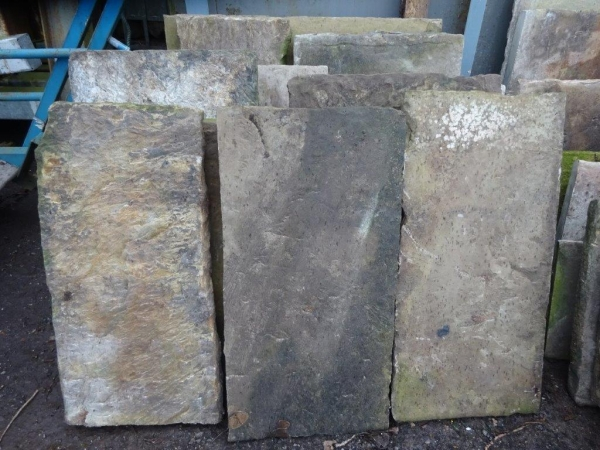 Used Reclaimed Stone - York Stone Paving Flags - Bundle of 25 Square Yards