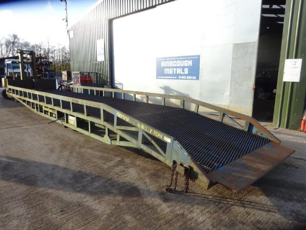 Chase Equipment Ltd Container Loading Ramp - Second Hand