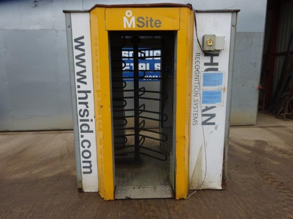 Human Recognition Systems Msite Biometric Turnstile - Second Hand