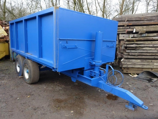 Farm Trailer - Tipping - Steel Body Tipping Trailer 10 Tonne Tipping Trailer