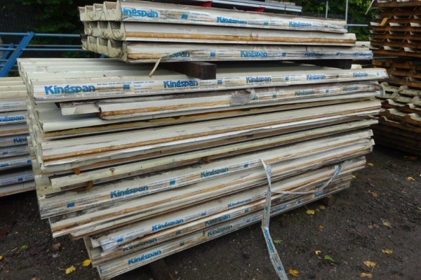 Bundle of 12 no Used Kingspan Insulated Roofing Sheets 2.130/2.440mtr Cover x 900mm Cover 50mm Thick