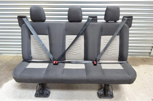 Ford Transit Rear Seat Row, Roof Lining, Bulkhead And Floor Panel - Second Hand