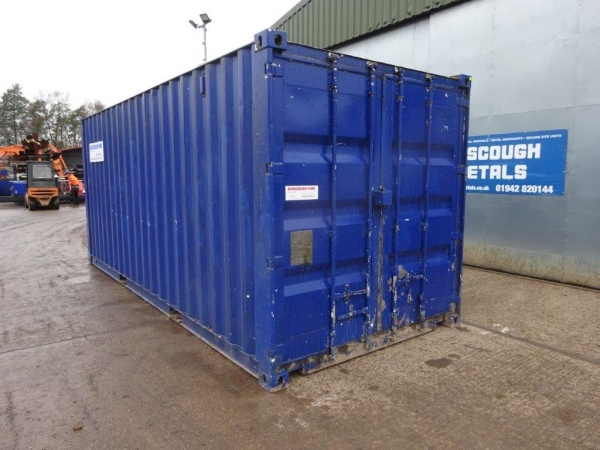20 ft Long 8 ft Wide Various Colour / Condition Used Steel Storage Container / Cabin - Second Hand Container  - Store