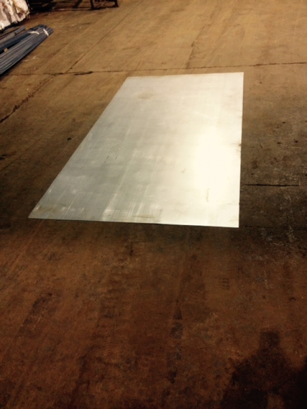 3.000mtr Long x 1.500mtr Wide x  1mm Thick  Galvanised  Plate