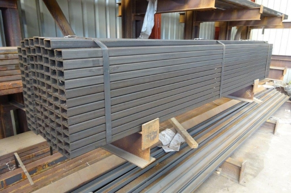2.345 Mtr of 50 mm x 30 mm x  2.5 mm Steel Box Section  ( Unused  )
