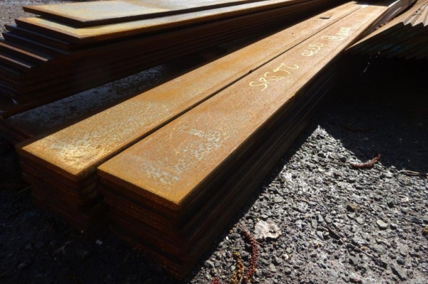 100mm x  10mm x 13.770 Mtrs Flat Bar - Unused -  Flat Steel