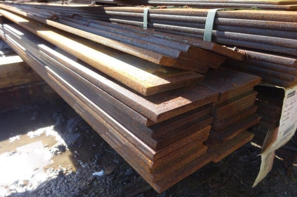 100mm x  12mm x 13.850 Mtrs Flat Bar - Unused -  Flat Steel