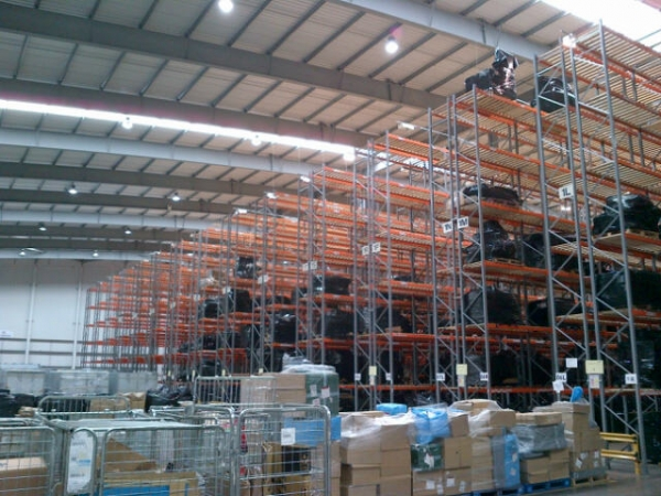 Planned Storage Systems Pss Racking Bulk Wagon Load of Uprights And Crossbars - Industrial Steel Racking - Not Redirack, Dexion, Stakrak or Link 51